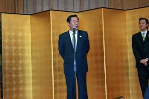 東京都の谷川健次副知事